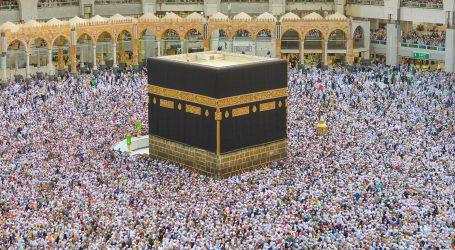Na ovogodišnjem hadžu u Saudijskoj Arabiji bit će samo 1000 vjernika
