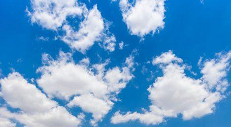 Pretežno oblačno uz postupno razvedravanje, popodne mogući lokalni pljuskovi