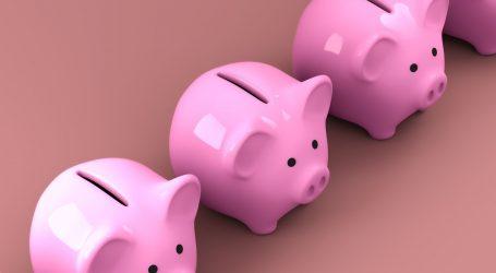 U travnju nastavak međugodišnjeg rasta štednje, no daljnji rast upitan