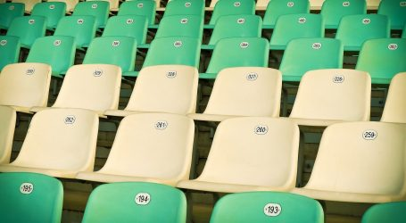Na izraelskom stadionu ugradili anti-korona prskalice