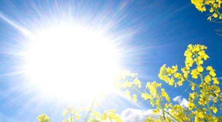 DHMZ: Danas sunčano i vruće