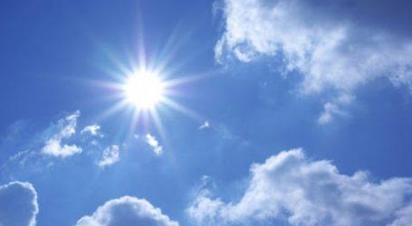 DHMZ: Prevladavat će sunčano, ali uz mogući pljusak