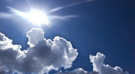 DHMZ: Očekuje nas djelomice sunčano uz promjenljivu naoblaku