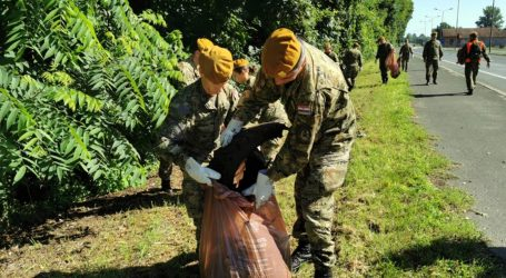 MORH: Vojska sudjelovala u akciji čišćenja Dravske šume u Varaždinu