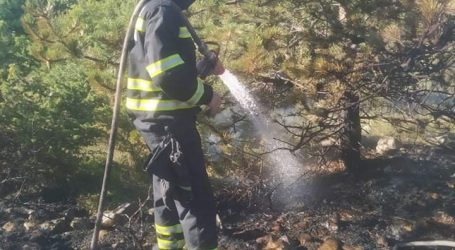 Opet gori kod Muća, angažirano 60 vatrogasca i četiri protupožarna zrakoplova