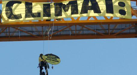 Francuski Greenpeace traži učinkovitije akcije u kontroli klimatskih promjena