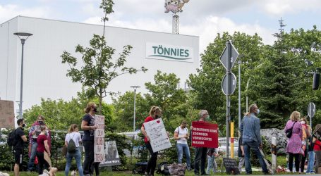 U Njemačkoj prosvjedi ispred klaonice iz koje se proširio koronavirus
