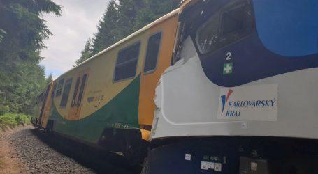 Deseci ozlijeđenih u željezničkoj nesreći blizu Praga