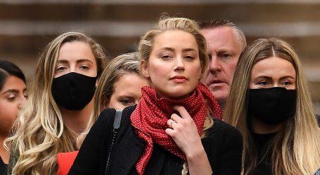 Amber Heard odbacila optužbe Johnnyja Deppa da je imala aferu s Elonom Muskom