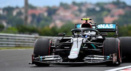 VN MAĐARSKE: Bottas ispred Hamiltona na trećem treningu