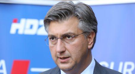 Plenković: Optužbe na račun Stožera su ponavljanje, recikliranje tema