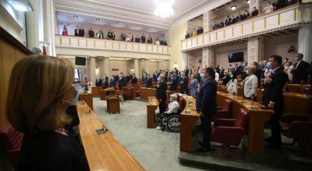Konstituiran 10. saziv Sabora, zastupnici prisegnuli, izglasan predsjednik i potpredsjednici