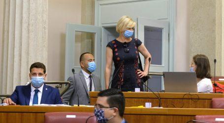 Benčić traži od MUP-a ispravak informacije o snimanju policajaca