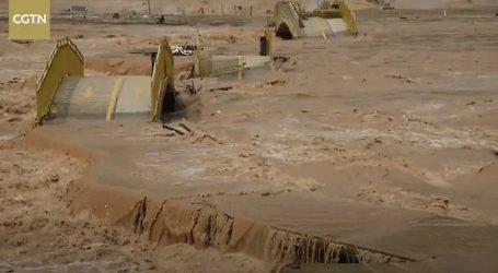 Zatvoreni brojni vidikovci na slapovima Hukou