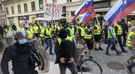 Slovenski premijer Janez Janša angažirao je neonaciste da suzbije prosvjede protiv njegove vladavine