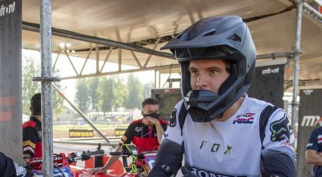 Klasa MXGP: Mitch Evans dobro odvozio svoj prvu trostruku utrku