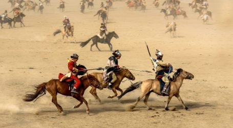 Festival tradicionalnih sportova u Mongoliji održan bez posjetitelja