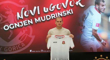 Ognjen Mudrinski će i iduće sezone nositi dres Gorice