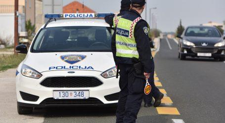 Ukrao automobil i drogiran izazvao sudar prije položenoga vozačkog ispita