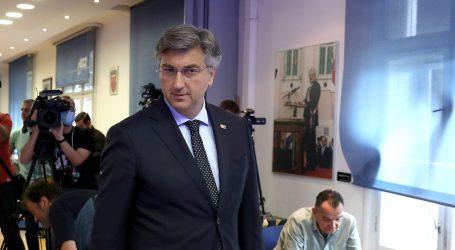 """VIDEO: Plenković čekao u redu zajedno s građanima: """"Veselim se odabiru građana"""""""