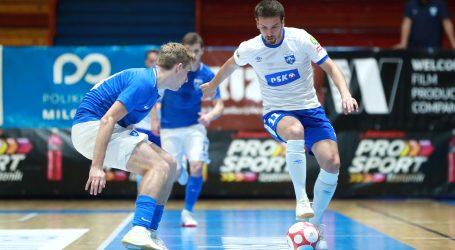 FUTSAL: Dinamo ponovno u drami do polufinala, Olmissum lako protiv Vrgorca