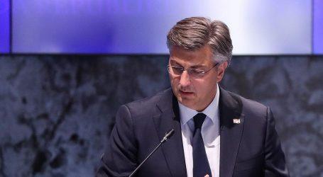 """SJEDNICA VLADE: Plenković: """"Da nema koronavirusa imali bismo najmanje nezaposlenih u ovom mandatu"""""""