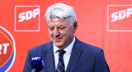"""KOMADINA: """"SDP je druga politička snaga u Hrvatskoj"""""""