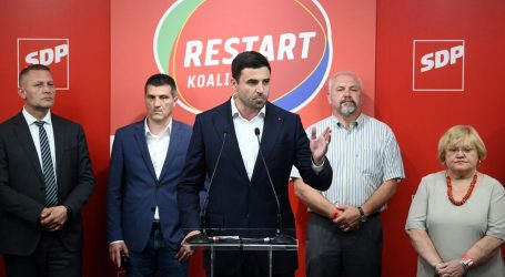 """BERNARDIĆ: """"Naravno da je ovaj rezultat loš. Spreman sam otići, ali SDP ide dalje"""""""