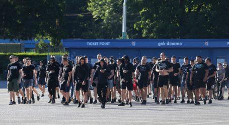 Nekoliko stotina Bad Blue Boysa prosvjedovalo na Maksimiru