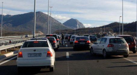 HAK: Zbog prometne nesreće na A1 ograničenje između čvorova Zagvozd – Račva