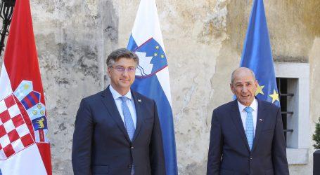 Plenković i Janša razgovarali o epidemiološkoj situaciji, Hrvatska i Slovenija usklađuju epidemiološke mjere