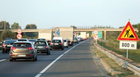 HAK: Pojačani oprez zbog radova na autocestama i državnim cestama