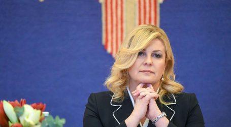 Grabar-Kitarović kaže da u MOO neće imati plaću, otkrila da je članica nekoliko upravnih vijeća