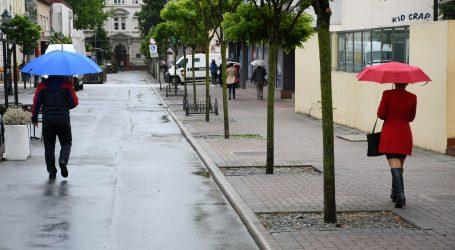 DHMZ: Danas svježije i pretežito oblačno sa mogućom kišom