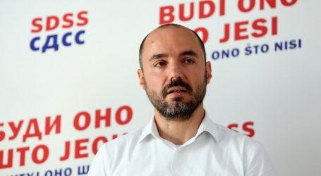 SDSS za potpredsjednika vlade predlaže Borisa Miloševića