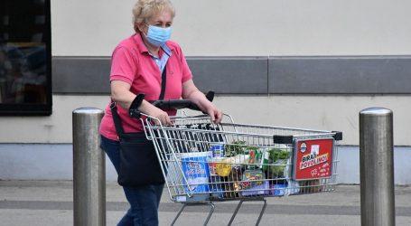 """Austrijski sindikat zahtijeva plaćenu """"stanku od maske"""" za trgovce"""