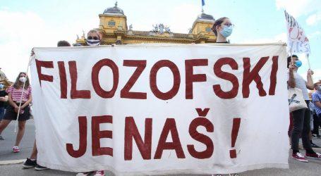 """FILOZOFSKI FAKULTET: """"Nećemo dopustiti da osovina Čović-Boras-Šimpraga ignorira našu volju"""""""