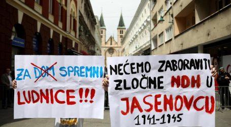 Sarajevska policija prijavila organizatore prosvjeda protiv blajburške mise