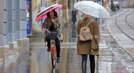 DHMZ: Većinom oblačno i kišno