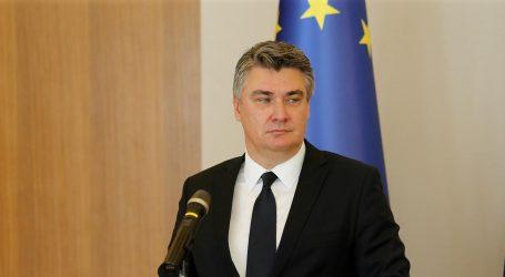 Milanović neće doći na konstituirajuću sjednicu Sabora