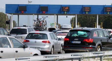 Tijekom dana očekuje se povećana gustoća prometa na hrvatskim cestama