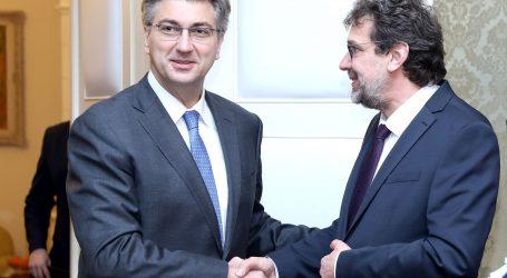 Plenković i Žigmanov razgovarali o položaju hrvatske nacionalne manjine u Srbiji
