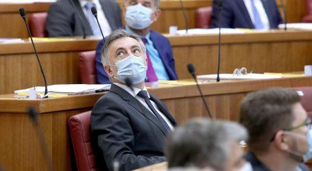 Izabrani potpredsjednici Sabora, samo Katarina Peović glasala protiv Škore