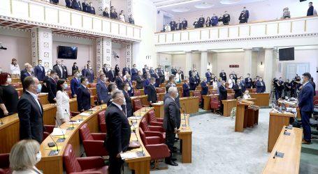 Sabor izglasao zakon o manjoj Vladi