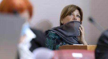Karolina Vidović Krišto odbija nositi zaštitnu masku i mišljenja je kako je Vlada protuustavna
