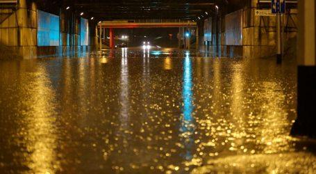 NEVRIJEME POPLAVILO ZAGREB: Ilica pod vodom, tramvaji ne voze, deseci intervencija, poplavljene stotine objekata