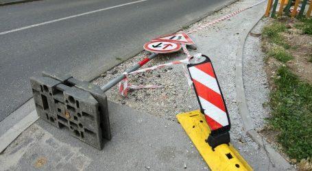 HAK: Olujni vjetar stvara velike probleme u prometu