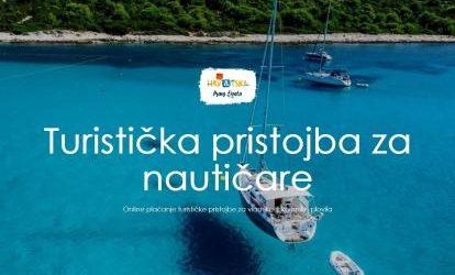 HTZ: Pokrenut portal za online plaćanje turističke pristojbe u nautici