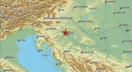 Novi slab potres u Zagrebu