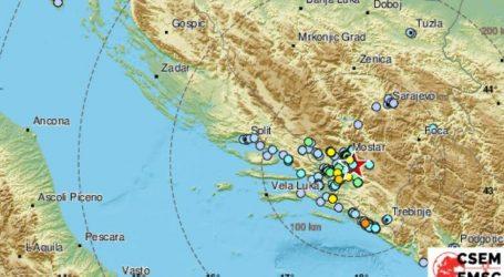 Potres pogodio Bosnu i Hercegovinu, EMSC javlja da je bio jačine 4,2